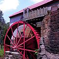 Big Red Wheel by Sandi OReilly