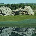 Big Rock Reflection by Al Bourassa