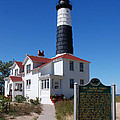 Big Sable Point Lighthouse by Grace Grogan