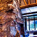 Big Sky Lodge Interior by Jon Berghoff