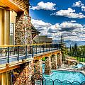 Big Sky Ski Resort Montana by Jon Berghoff