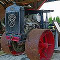Big Steel Wheel Tractor by Randy Harris