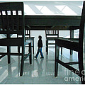 Big Table And Chairs by Jim Wright