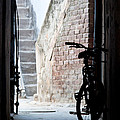 Bike In The Alley - Bicicleta En El Callejon by Felix Mazo