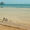 Biked To The Beach by Kathleen Grace