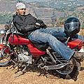 Biker Back Rest by Kantilal Patel