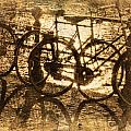 Bikes On The Canal by Skip Nall