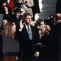 Bill Clinton Center, Taking The Oath by Everett