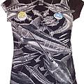 Billfish Ladies Shirt by Carey Chen