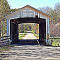 Billie Creek Village Covered Bridge by Robin Pross