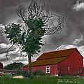 Bills Barn   Red by John Selmer Sr