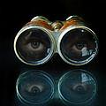 Binoculars With Eyes Looking At You by Jill Battaglia
