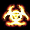 Biohazard Sign by Christian Darkin