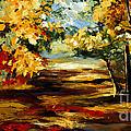 Birch Forest 4 by Madhav Singh