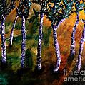 Birch Forest by Angela Loya