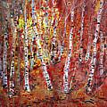 Birch Trees by Viola El
