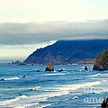 Haystack Rock by Tisha Clinkenbeard