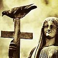 Bird On The Cross by Diane Dugas