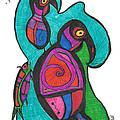 Birdfish Watch by Carolyn L Schaefer