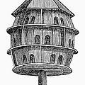 Birdhouse, 19th Century by Granger