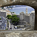 Bird's Eye View Of Dubrovnik by Madeline Ellis