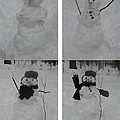 Birth Of A Snowman by Richard Bryce and Family