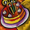 Birthday  Cake  by Leon Zernitsky
