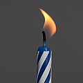 Birthday Candle by Photo Researchers, Inc.
