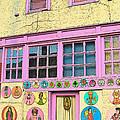 Colorful Building Bisbee Az by Rebecca Korpita