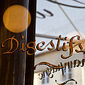 Bistro Sign For Digestives by Keenpress
