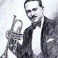 Bix Beiderbecke 1929 by Mel Thompson