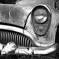 Black An White Buick by Steve McKinzie