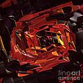 Black And Red by Deborah Benoit