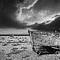 Black And White In Dungeness by Meirion Matthias