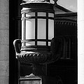 Black And White Lamp by Scott Hovind
