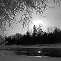 Black And White Sunrise by Kent Lorentzen