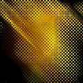 Black And Yellow Abstract II by Debbie Portwood