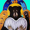 Black Bear Seraphim Photoshop by Christina Miller