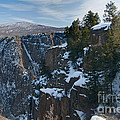 Black Canyon Of The Gunnison by David Waldrop