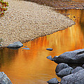 Black River Reflections At Johnsons Shut Ins State Park I by Greg Matchick
