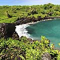 Black Sand Beach Maui by Pierre Leclerc Photography