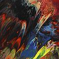 Blackbird Rainbow Blitz by Miki De Goodaboom