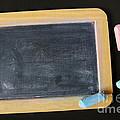 Blackboard Chalk by Carlos Caetano