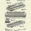 Blackboard Eraser 1893 Patent Art by Prior Art Design