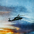 Blackhawk Helicopter by Jill Battaglia
