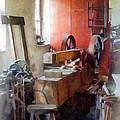 Blacksmith Shop Near Windows by Susan Savad