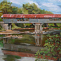 Blair Bridge Campton New Hampshire by Nancy Griswold