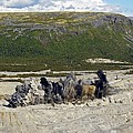 Blast At Open-cast Mine by Ria Novosti