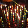 Blazing Amazing Birthday Candles by Kathy Clark