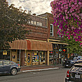 Blind Georges And Laughing Clam On G Street In Grants Pass by Mick Anderson
